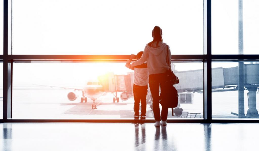 Traveling over the holidays with your child